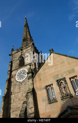 St Wystan's Church, Repton - Stock Image