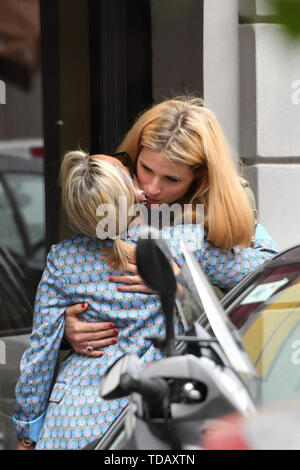 Michelle Hunziker out and about in Milan, Italy  Where: Milan, Italy When: 13 May 2019 Credit: IPA/WENN.com  **Only available for publication in UK, USA, Germany, Austria, Switzerland** - Stock Image
