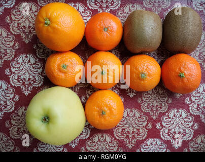 Several fresh fruits. France - Stock Image