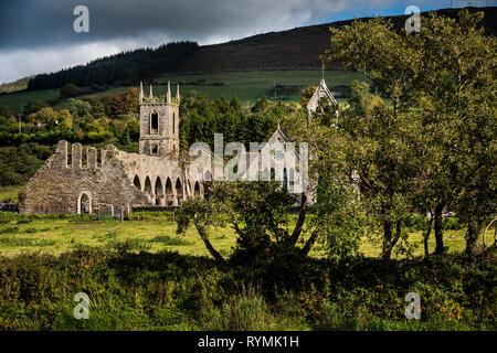 Baltinglass Abbey in County Wicklow, ireland - Stock Image