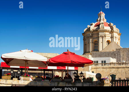 Fontanella Tea Rooms, Mdina, Malta - Stock Image