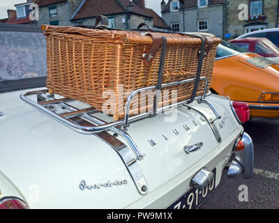 Triumph Spitfire Luggage Rack - Stock Image