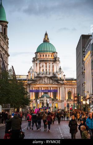 Belfast, Culture Night 2018 - Stock Image