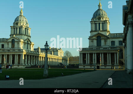 The Old Royal Navy College, Greenwich, London, UK - Stock Image