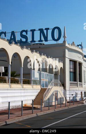 Menton Casino, Cote D'Azure, France. - Stock Image