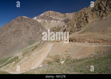 Zagros mountains, Central Iran. Part of the Dana Massif, near Yasuj - Stock Image