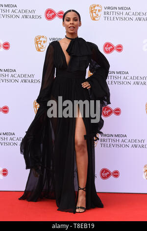 London, UK. 12th May, 2019. LONDON, UK. May 12, 2019: Rochelle Humes arriving for the BAFTA TV Awards 2019 at the Royal Festival Hall, London. Picture: Steve Vas/Featureflash Credit: Paul Smith/Alamy Live News - Stock Image