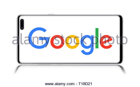 Google logo - Stock Image