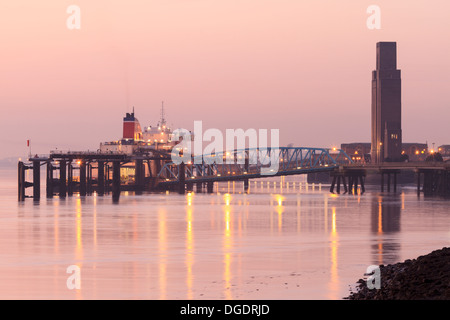 Liverpool ferry Birkenhead, Wirral - Stock Image