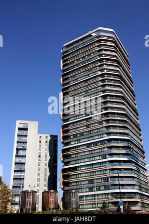 Canaletto Tower City Road Islington London - Stock Image