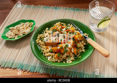 Butter chicken - Stock Image