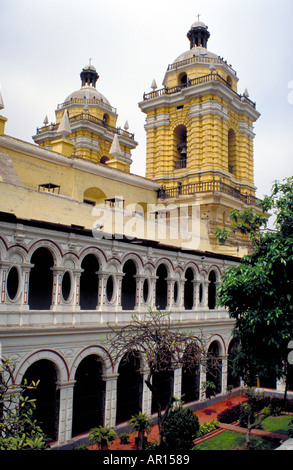 San Francisco Monastery, Lima, Peru - Stock Image