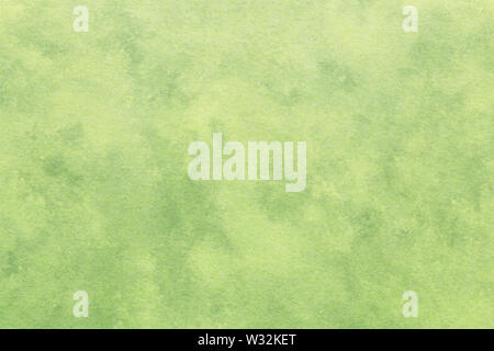 Japanese vintage green color paper texture or grunge background - Stock Image