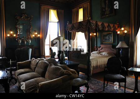 The Elms mansion, Newport, Rhode Island, USA - Stock Image