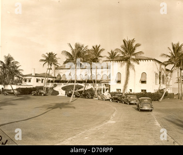 Gulf Stream Golf Club, Palm Beach, ca 1946 - Stock Image