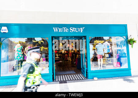 White Stuff Store, Plymouth, Devon, UK, England, White Stuff clothes clothing chain, White Stuff shop, White Stuff,  White Stuff logo, shop, store - Stock Image