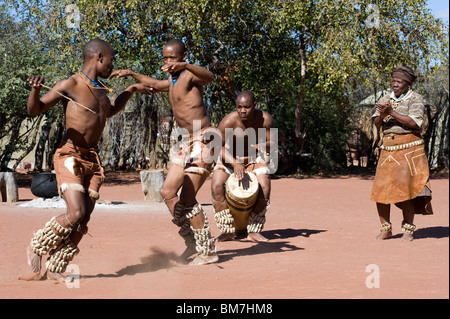 traditional Dancers - Stock Image