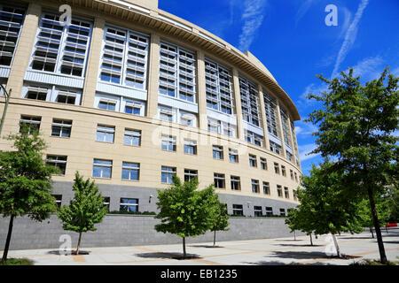 Richmond, Virginia. Federal courthouse. - Stock Image