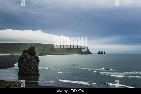 Black Sands, Iceland - Stock Image