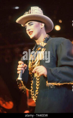 BOY GEORGE English pop singer about 1996 - Stock Image