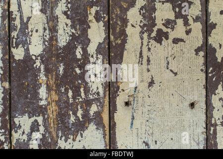 Full Frame Shot Of Wooden Wall - Stock Image