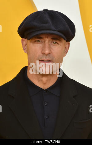 Mark Strong attends the UK Premiere of 'Yesterday' at the Odeon Luxe in Leicester Square, London, England. - Stock Image