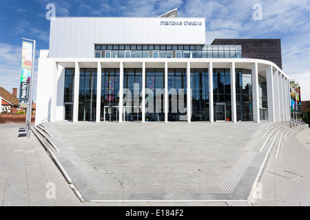 The New Marlowe Theatre Canterbury Kent - Stock Image