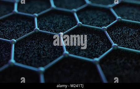 Graphene, computer illustration. - Stock Image