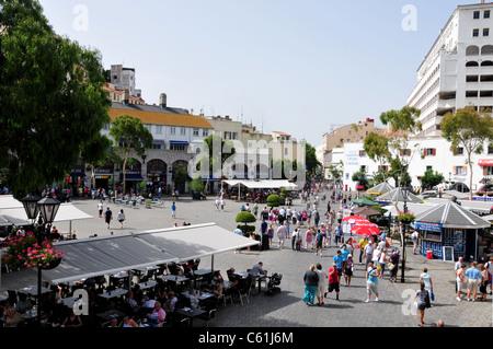 Casemates Square, Gibraltar - Stock Image
