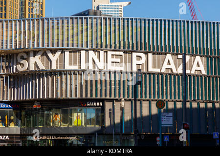 Skyline Plaza in Frankfurt, Germany. - Stock Image