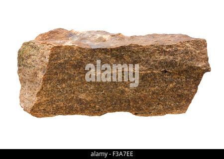 K-feldspar syenite aplite (fine-grained syenite) - Stock Image
