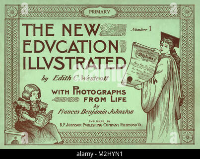 New Education Illustrated Primary, 1900 - Stock Image