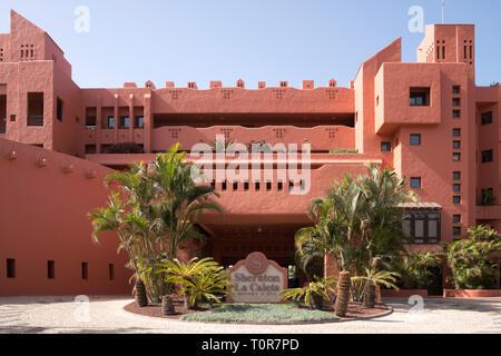Sheraton La Caleta resort and spa in Costa Adeje, Tenerife, Canary Islands. - Stock Image