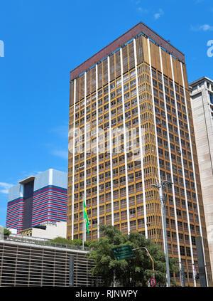 Architecture in Paulista ave. Sao Paulo. Brazil - Stock Image