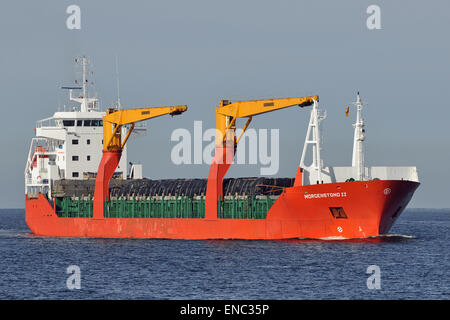 General Cargo Vessel Morgenstond II - Stock Image