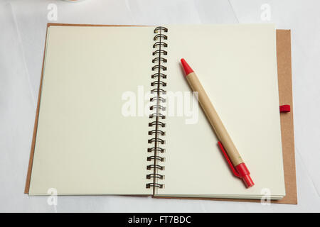 ежедневник - Stock Image