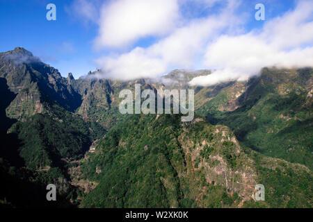 Portugal, Madeira Island, Balcoes de Ribeiro Frio - Stock Image