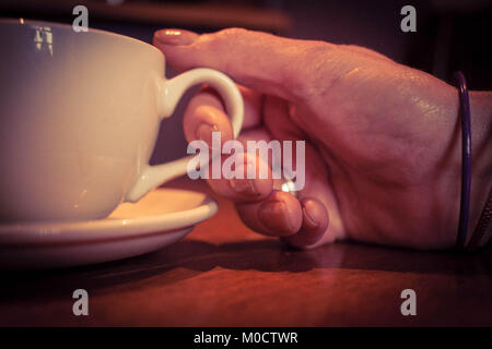 Time for a cup of coffee - Stock Image