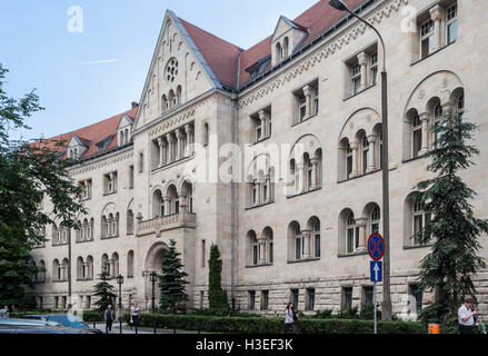 Typical Historical Building Poznan, Poland - Stock Image