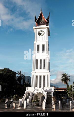 Clock tower in Bukittinggi, Sumatra, Indonesia - Stock Image