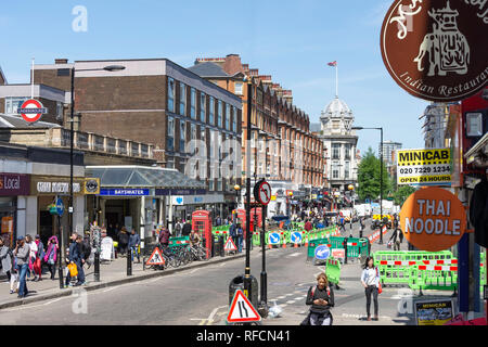 Queensway, Bayswater, City of Westminster, Greater London, England, United Kingdom - Stock Image