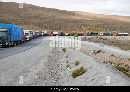 Chili - Bolivian border - Stock Image