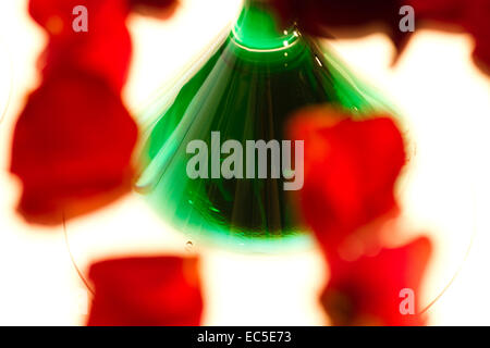 green and red - Stock Image