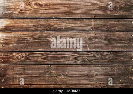 weathered cedar gate panel - Stock Image