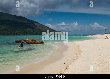 Beautiful beach on Koh Lipe island, Thailand - Stock Image
