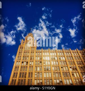 Manchester Unity Building Art Deco style in Melbourne - Stock Image