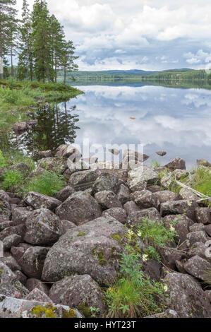 Oxberg Lake - Stock Image