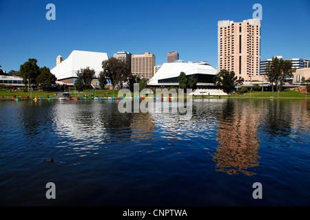 River Torrens Adelaide South Australia - Stock Image
