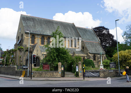 Church of St Giles with St Peter Cambridge 2019 - Stock Image