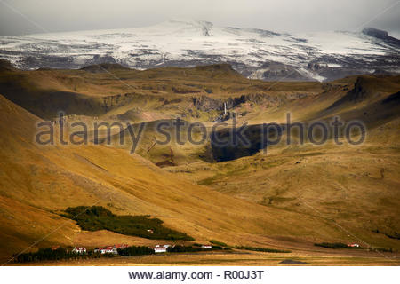 Mountains in Iceland - Stock Image